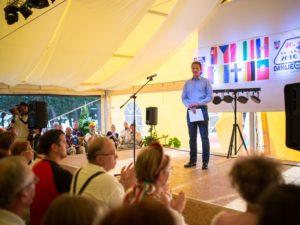 event podium